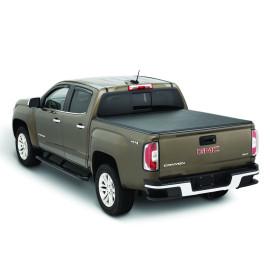 Soft Roll Up Tonneau Cover 2015-2019 Chevrolet Silverado Gmc 6.5ft Truck Bed Covers Roll Up Tonneau Cover