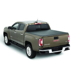 PVC Soft Roll Up Tonneau Cover 2015-2019 Chevrolet Silverado Gmc 6ft Pickup Bed Covers Roll Up Tonneau Cover