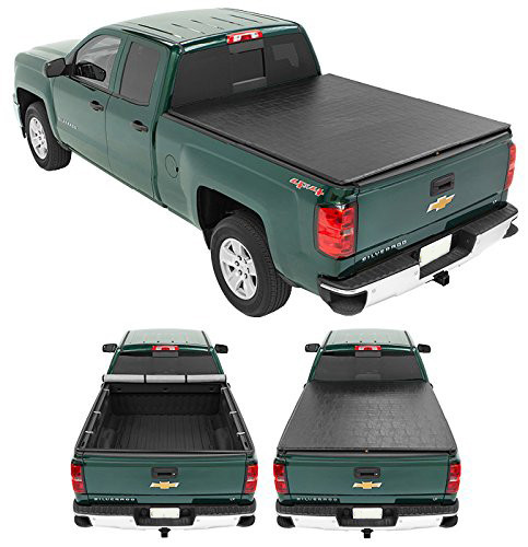Soft Roll Up Tonneau Cover 2004-2014 Chevrolet Colorado Gmc 6ft Pickup Bed Covers Truck Bed Covers