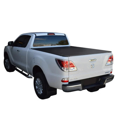 Truck Bed Covers 2012-2016 Mazda Bt50 Soft Roll Up PVC Tonneau Cover Roll Up Tonneau Cover