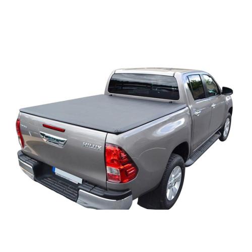 Folding Truck Bed Covers 2005-2014 Toyota Hilux Vigo Tri-Fold Soft Tonneau Cover