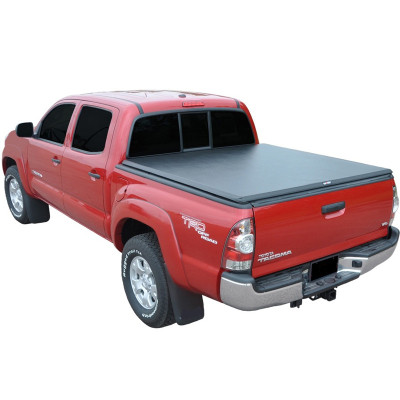 Toyota Tri-Fold Soft Tonneau Cover 2005-2017 Toyota Tacoma 5f Pickup Bed Covers