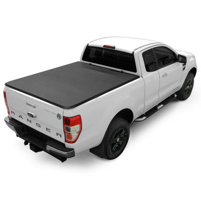 Truck Bed Tri Fold Soft Tonneau Cover Ford Ranger F150 F250 F350 Soft Folding Truck Bed Covers Soft Tonneau Cover