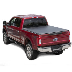 Soft Tri Fold Tonneau Cover 1999-2018 Ford F250 F350 6.5f Truck Bed Covers for Ford