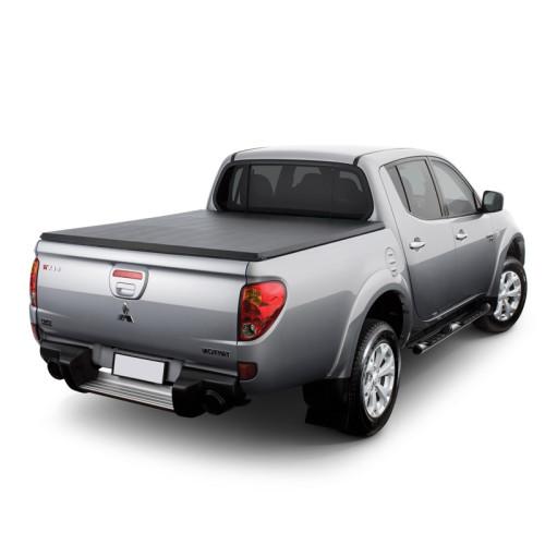 Tri-Fold Soft Truck Bed Covers Mitsubishi L200 Tonneau Cover