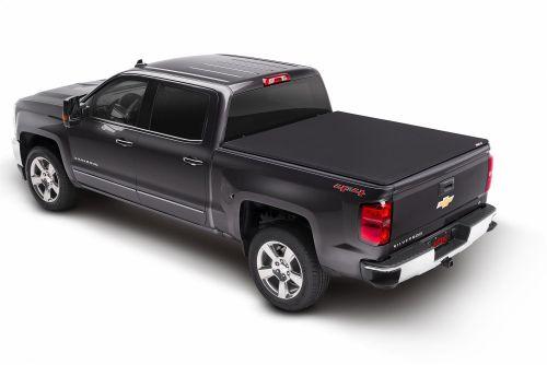 Tri-Fold Soft Tonneau Cover  Chevrolet Colorado Silverado Gmc Truck Bed Covers Folding Tonneau Cover