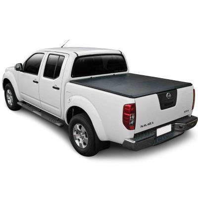 Pickup Tri-Fold Soft Tonneau Cover for Nissan Navara D40 Np300 Truck Pickup Bed Covers Folding Tonneau Cover