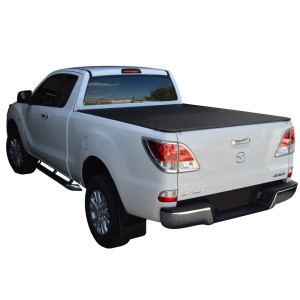 Truck Bed Soft Folding Covers 06-11 Mazda Bt50 Ford Ranger Soft Tri Fold Tonneau Cover