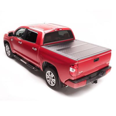 Tri Fold Tonneau Cover 2007-2017 Toyota Tundra 5.5f Truck Pickup Bed Covers Hard Tonneau Cover