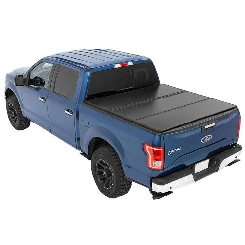 Tri Fold Tonneau Cover Truck Pickup Bed Covers Ford 2015-2019 F150 5.5ft Truck Hard Folding Tonneau Covers