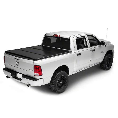 Tri-Fold Hard Tonneau Cover Dodge RAM 1500 Pickup Bed Covers Folding Tonneau Cover