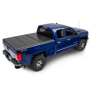 Tri-Fold Hard Tonneau Cover Chevrolet Silverado Gmc Pickup Bed Covers Folding Tonneau Cover