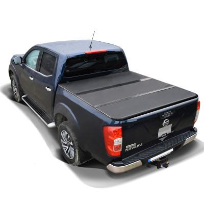 Truck Bed Hard Tonneau Covers 2015+ Nissan Navara Np300 Truck Bed Covers Hard Folding Tonneau Cover