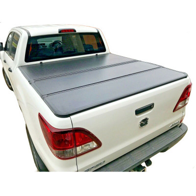 Folding Tonneau Cover 2006-2011 Mazda Bt50 Hard Tonneau Cover Hard Truck Bed Covers