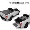 Soft Tri-Fold Tonneau Cover-Product display and installation