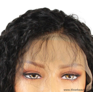 Hot Selling Best Quality Brazilian Virgin Human Hair Bob Curly Lace Front Wigs