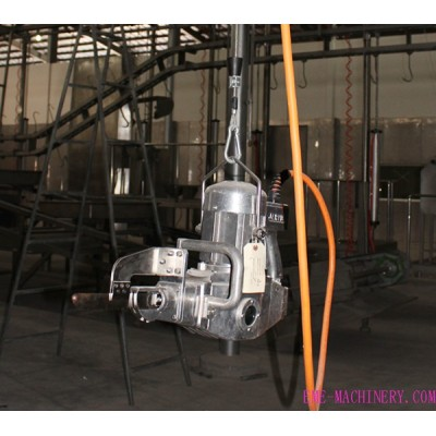 Cattle Slaugther Line Carcass Brisket Opening Saw For Abattoir Equipment