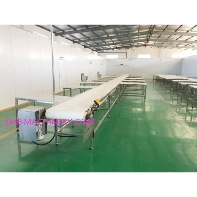 Cattle Slaughter Eequipment Single Layer Carcass Boneless Belt Conveyor For Cow Abattoirs