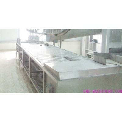 Pig Slaughter Equipment Horizontal Type Killing And Bleeding Conveyor