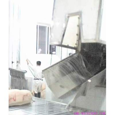 Pig Slaughtering Machinery Sliding Chute For Pig Abattoir Machinery