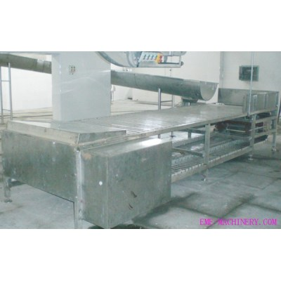 Pig Abattoir Horizontal Type Killing And Bleeding Conveyor