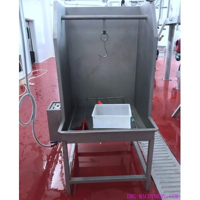 Cattle Slaughter Head Cleaning Device For Cow Slaughtering Machinery