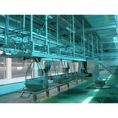 Sheep Slaughtering Machine Viscera Synchronous Quarantine Conveyor