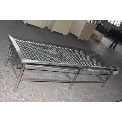 Sheep Slaughter Bleeding Roller Table For Goat Slaughterhouse Machine