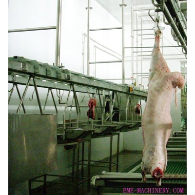 Sheep Slaughtering Viscera Synchronous Quarantine Conveyor For Slaughter Plant