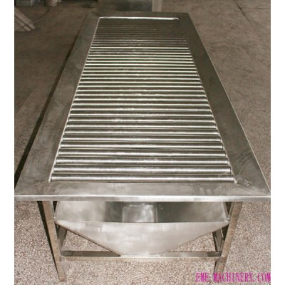 Sheep Slaughter Line Bleeding Roller Table For Goat Abattoir