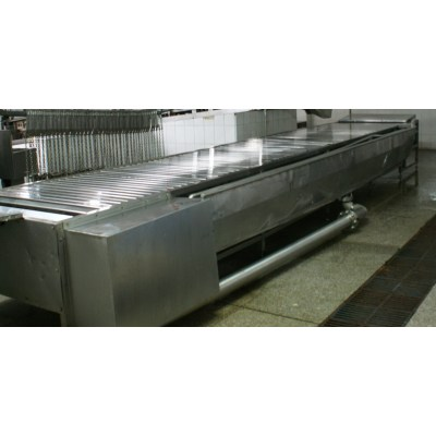 Pig Abattoir Killing And Bleeding Conveyor For Slaugthering Machinery