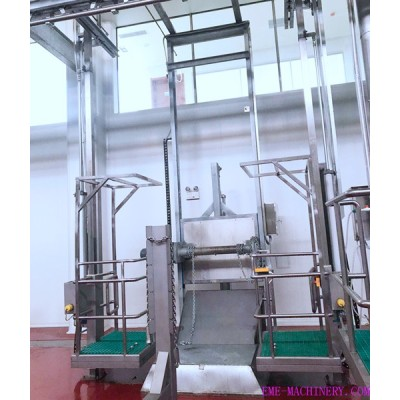 Cattle Skin Remove Machine For Abattoir Equipment
