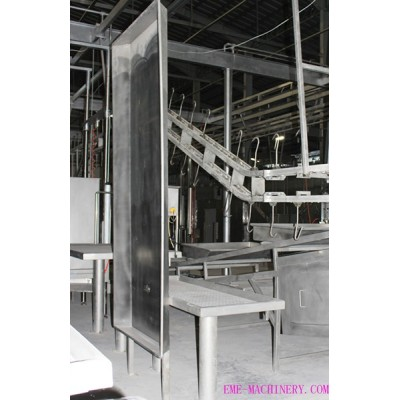 Cattle Slaughter Carcass Splitting Cutting Prevention Screen For Slaughtering Plant