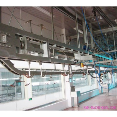 Sheep Slaughterhouse Processing Automatic Conveying Rail For Abattoirs