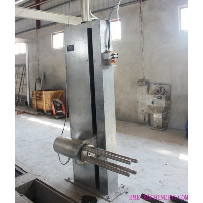 Vertical Type Sheep/goat Skin Removed Machine For Abattoir Equipment