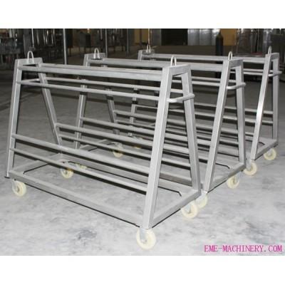 Idle-Hooks Transportation Trolley For Abattoir Machinery
