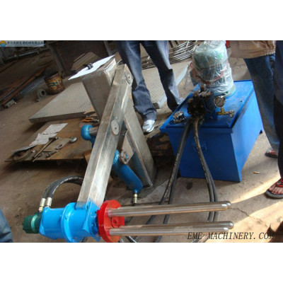 Vertical Type Sheep/goat Skin Removed Machine For Slaughtering Machinery