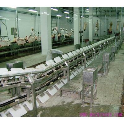 Pre Peeling Conveyor For Abattoirs Equipment