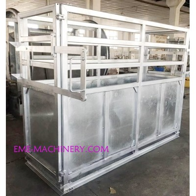 Living Cattle Gross Weight Scale System For Abattoirs Plant