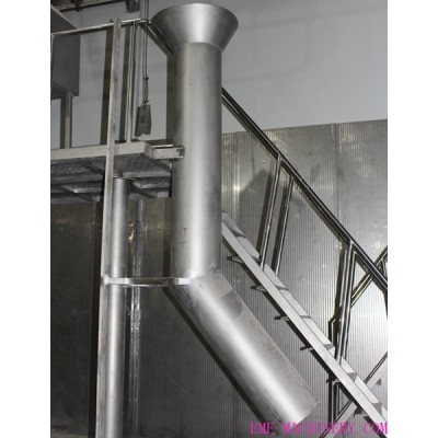 Cattle Hooves Sliding Chute For Cow Abattoirs Equipment