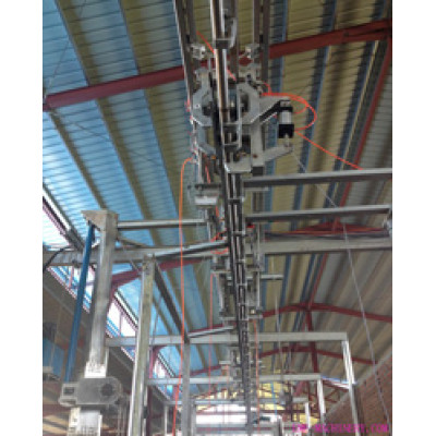 Cattle Carcass Processing Stepping Conveyor For Abattoirs