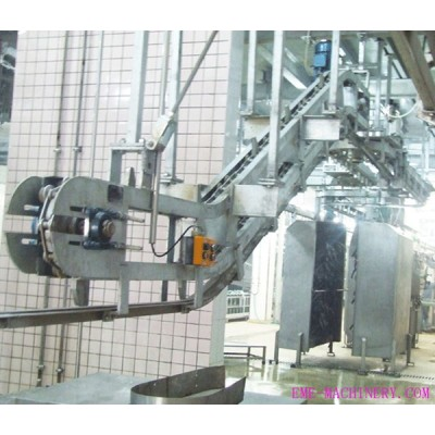 Acclivitous Pig Hoist Machine For Abattoir Equipment