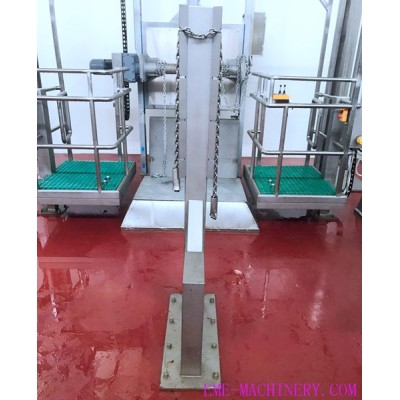 Cattle Fore-Legs Fixed Stake For Abattoirs Equipment