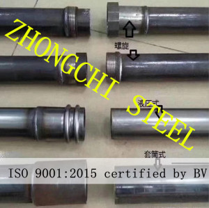 Welding Type Crosshole Sonic Logging Pipe