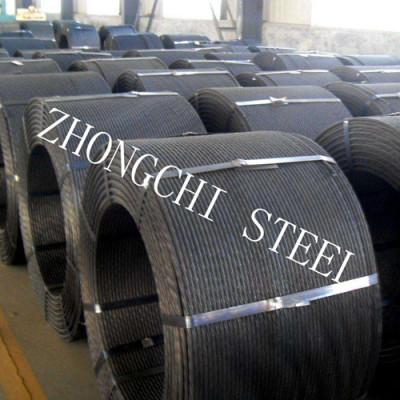 7 Wire Prestressing Concrete Steel Strand