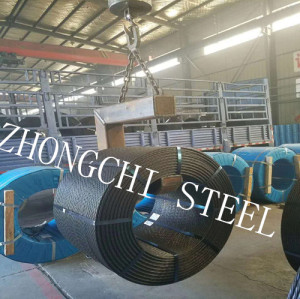 7 Wire Prestressing Concrete Steel Strand