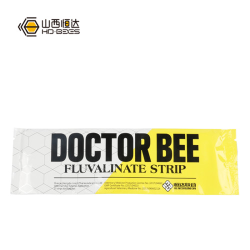 Beesvision Doctor Bee Apiculture  Fluvalinate&Flumethrin Strips  Treatment Varroa Mite
