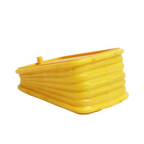 Plastic bee smoker box (Yellow color)