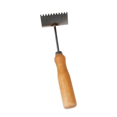 Wooden handle  queen excluder