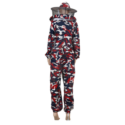 Camouflage cotton beekeeping suit clothing